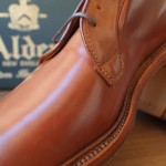 Alden whiskey cordovan plain toe