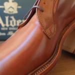 Alden whiskey cordovan plain toe