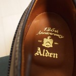Alden 125th Anniversary Long Wing Tip / United Arrows Special