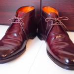 Alden Chukka Boots Aging