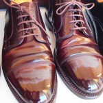 Alden Straight Tip Color 8 Cordovan