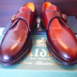 Alden Monk Strap Color 8 Cordovan