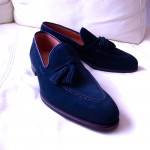 Crockett and Jones Vincent tassel loafer