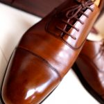 Crockett&Jones Audley Antique Dark Brown Calf