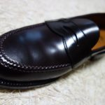Books Brothers(Alden) Cordovan Unlined Penny Loafers