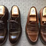 LAKOTA 25th Anniversary Model ALDEN Espresso Cordovan Plain Toe Modified Last