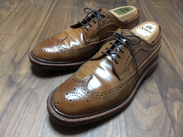 Alden Whiskey Long Wing Boot Maker Edition