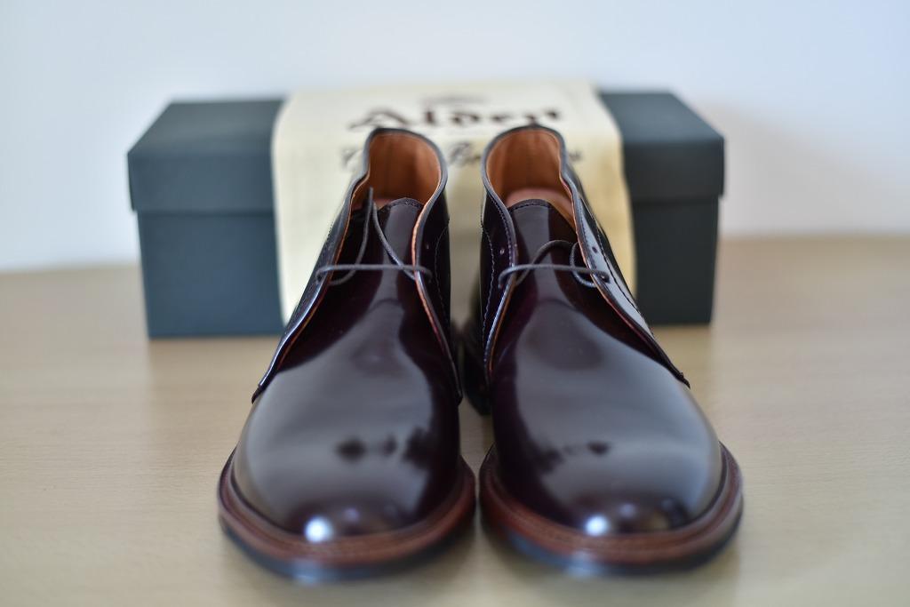 ALDEN AF18F Antique Chukka Boots