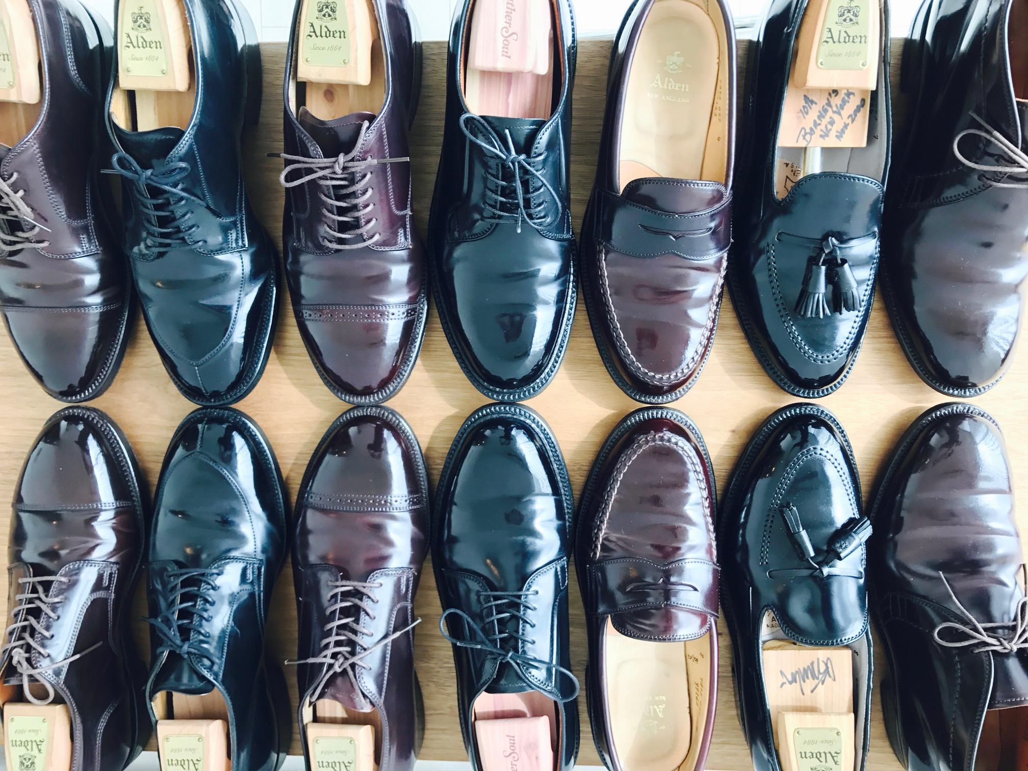 Alden Army Color8 x Black Cordovan!
