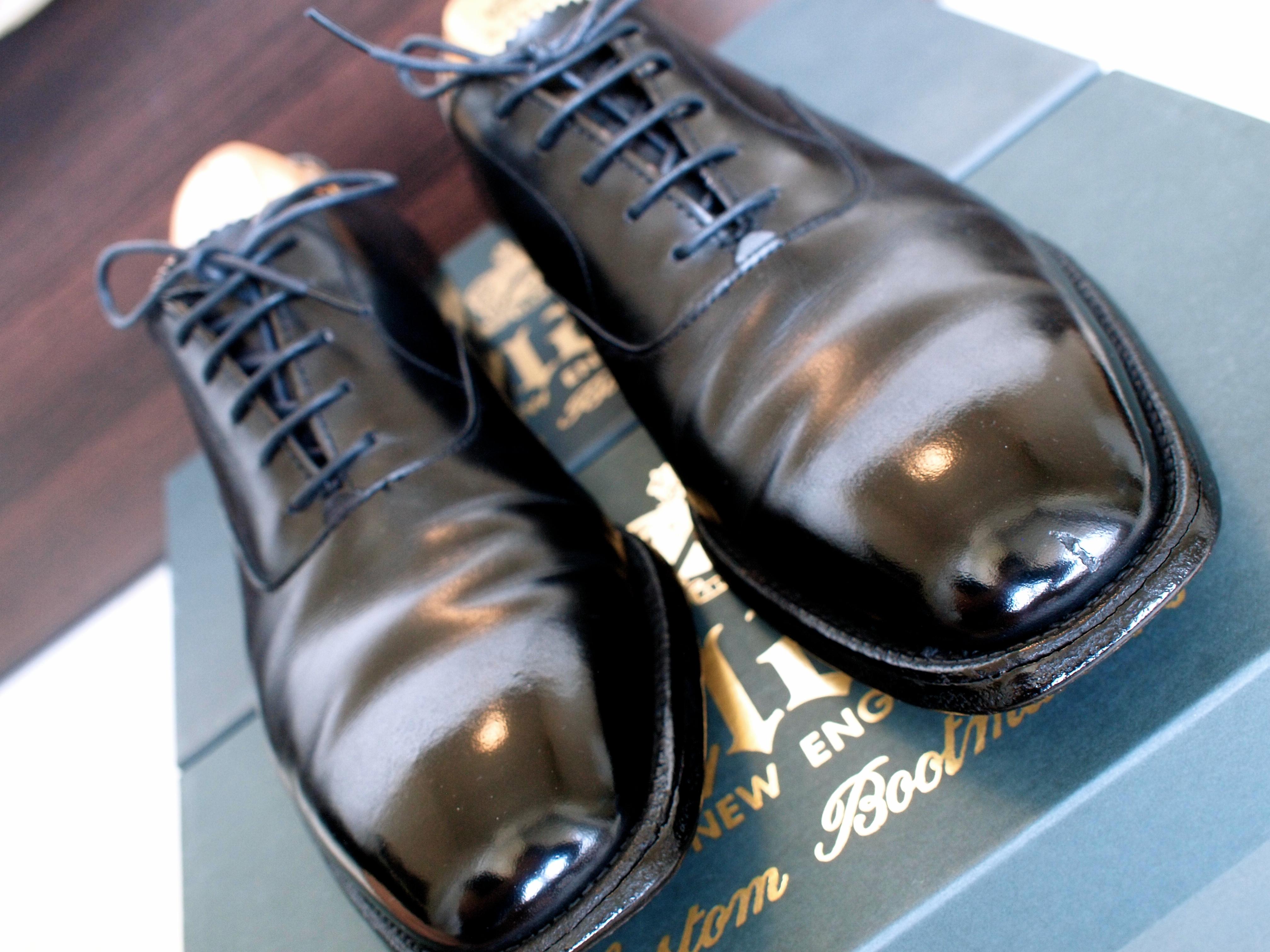 Alden Calf Plain Toe Barney's New York 10th Anniversary Model