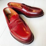 ALDEN Color2 Shell Cordovan Penny Loafer Tassels Hong Kong 8th Anniversary Model