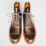 ALDEN AC3! Cigar Perforated Cap Toe Boots!