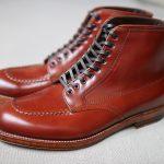 ALDEN Mahogany Cordovan Indy Boots