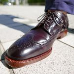 ALDEN Short Wing Tip Blucher With Antique Double Oak Outsole