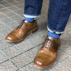 ALDEN Whiskey NST Saddle Blucher(AC-1)