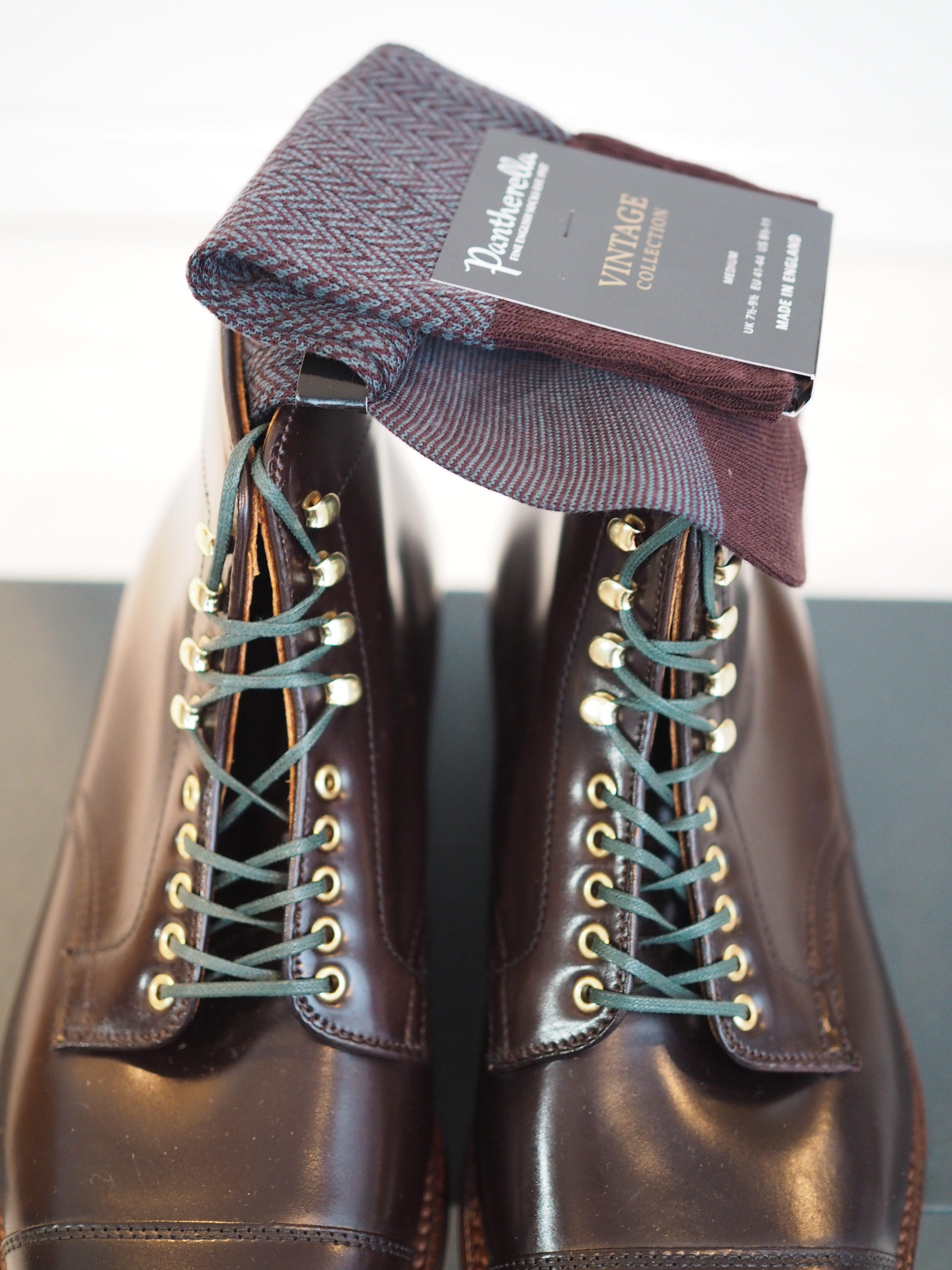 ALDEN Mocha Cordovan Boots